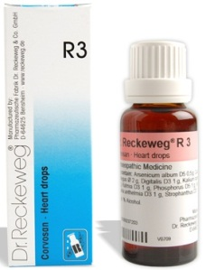 Dr.Reckeweg Hindi R3 Heart Drops , Hriday Sambandhi Homeopathy Dawai