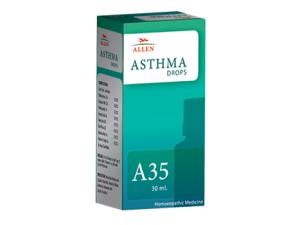 Asthma ke liye homeopathy dawai, Allen A35 Homeopathy Drops