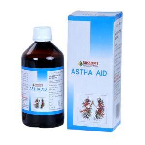 Asthma ka ilaaj hindi, Baksons Astha Aid (Syrup)
