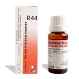 Reckeweg R44 drops in hindi for Disorders of the blood circulation रक्त संचरण के विकार (दुर्बलता) निम्न रक्त चाप