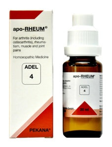 Adel 4 Apo-Rheum Drops for Arthritis, Rheumatism, Muscle and joint pains in hindi gathiya maansapeshiyon aur jodon mein dard ki dawa