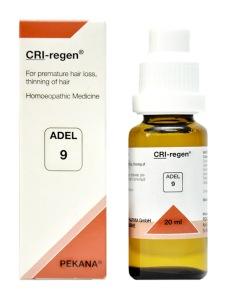 Adel 9 Cri-Regen Drops for Hair Loss in hindi baalon ka asamay jhadana, baalon ka patala hona ki dawa