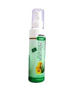 Baksons moisturizing lotion with aloevera calendula in hindi