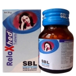 SBL Relaxhed tablets for migraine headache in hindi