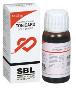 sbl-tonicard gold drops for heart problems in hindi hriday rog ki dawa