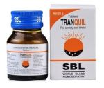 SBL Tranquil Tablets in Hindi, Homeopathy medicine for Anxiety and stress, restlessness