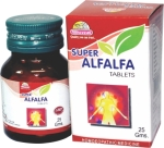 wheezal Alfalfa tablets homeopathic medicine in hindi