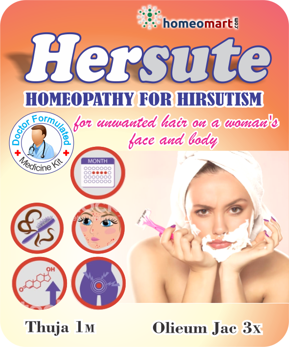 unwanted body hair in females, hirsutism